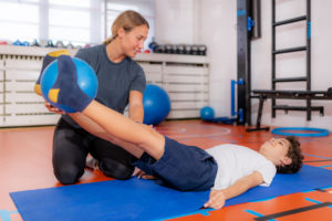 Lower abdominal and iliopsoas muscle exercise for children