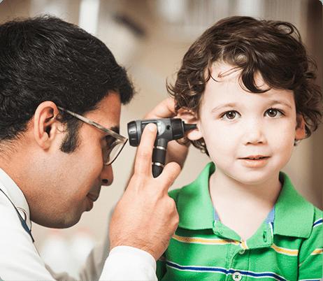 Pediatric ENTs - pediatric otolaryngology - pediatric ear nose and throat - KIDZ Medical Services